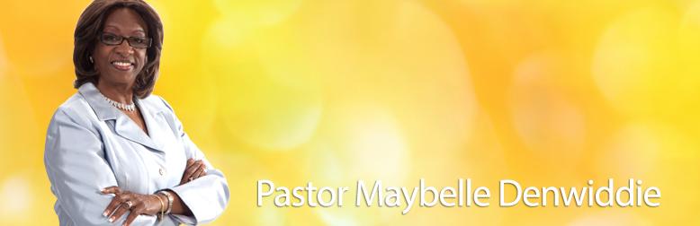 Pastor Maybelle Denwiddie