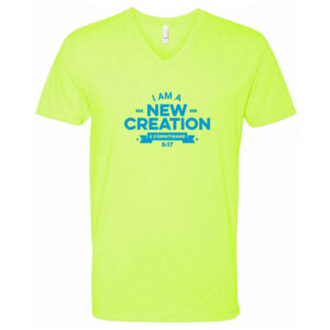 I Am A New Creation - Adult Tee - Neon Yellow